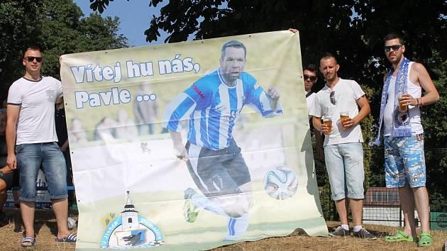 Domažlický kotel přivítal na prvním domácím utkání Jiskry i Pavla Horvátha.