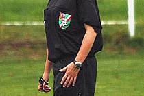Fotbalová rozhodčí Jana Schambergerová.