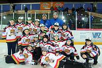 Mladší žáci HC Domažlice na mezinárodním turnaji v Deggendorfu.