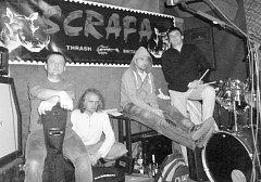 SCRAFA zahraje v sobotu v Death magnetics  v Domažlicích.
