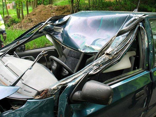 Smrtelná havárie u Třebnic