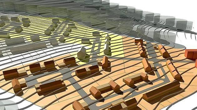 Takto by podle počítačového 3D modelu měla vypadat nová obytná zóna v Holýšově.