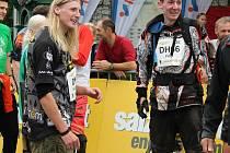 Závodu ve sjezdu jednokolek v Bad Goisernu se zúčastnili pouze dva čeští závodníci, Jakub Rulf z Děčína a Filip Knopp z Domažlic.