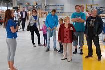 Den otevřených dveří v továrním areálu ZF Staňkov.