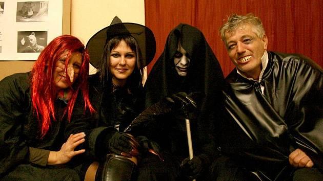 Halloweenské oslavy ve Štichově.