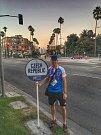 Pavel Kouřík z Domažlic v Los Angeles.
