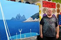 Václav Sika připravil novou výstavu ve Kdyni, na níž představí ukázky krajin, zátiší a portrétů.