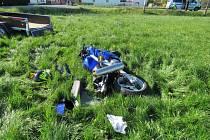 Nehoda u Hlohovčic.