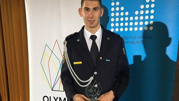 Pavel Kouřík na vyhlášení nejlepších sportovců.