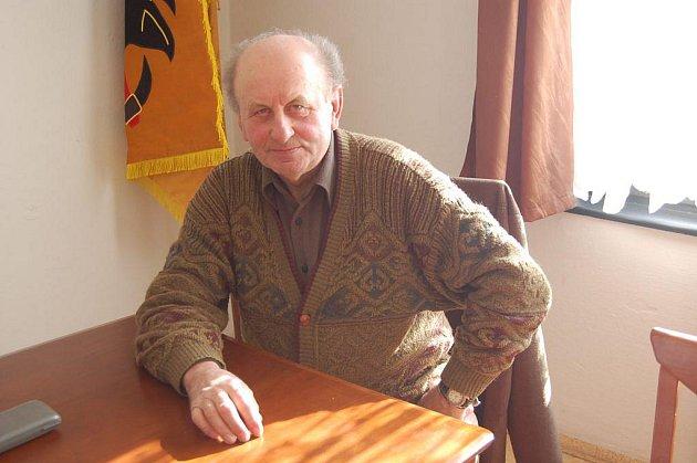 Jiří Halada, bývalý dlouholetý předseda sdružení.