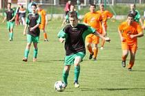 Z utkání fotbalistů Sokol Pocinovice B a ZD Meclov B.
