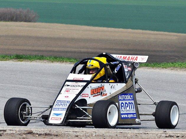 Formule ´kart´ bořického Kocour Racing Teamu.