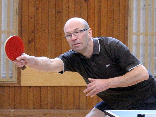 Velikonoční turnaj ve stolním tenisu pro neregistrované hráče v Holýšově.