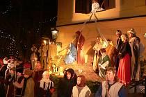 Živý betlém nebude chybět  v bohaté nabídce akcí, které pořádají v Horšovském Týně v předvánočním čase.