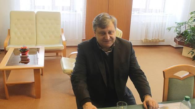 KDYŇSKÝ MÍSTOSTAROSTA Vladislav Vilímec.
