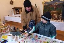 Z Vánoční výstavy 2014 v trhanovském zámku.