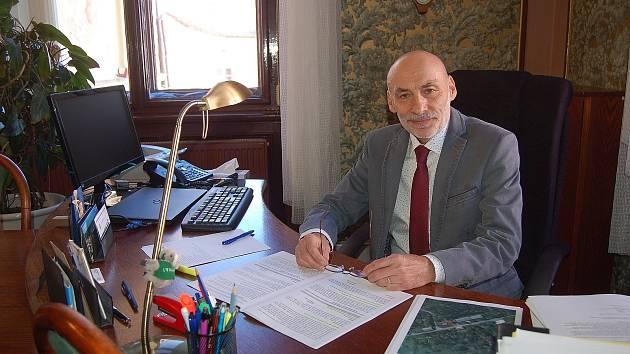 Starosta Domažlic Zdeněk Novák stojí v čele města od roku 2018.