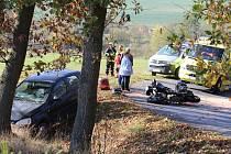 Nehoda u Korábu ve Kdyni.