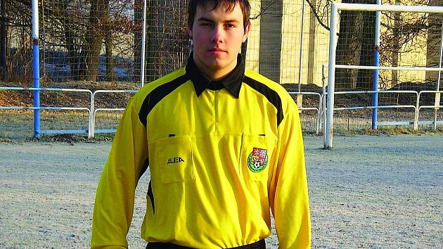 Fotbalový rozhodčí Petr Schwarz.