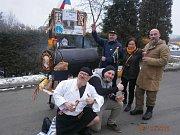 Podobně jako v dalších obcích na Domažlicku, tak i v Klenčí pod Čerchovem, prošel v sobotu 10. února masopustní průvod.