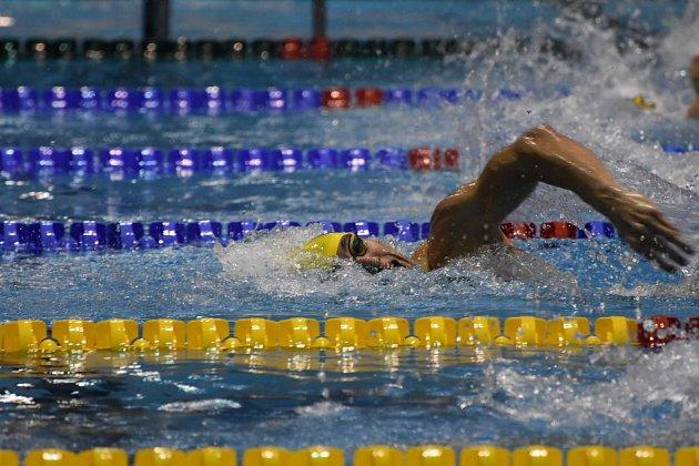 Vplzeňském bazénu se Šimáčkovi velmi daří.