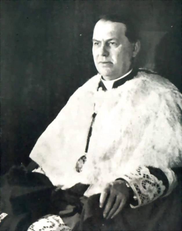 Antonín Bořek-Dohalský coby kanovník u svatého Víta v Praze.