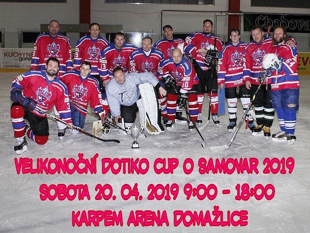 Vsobotu hokejový turnaj osamovar