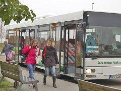Domažlická radnice autobusovou linku letos zadotuje částkou 1,36 milionu korun.