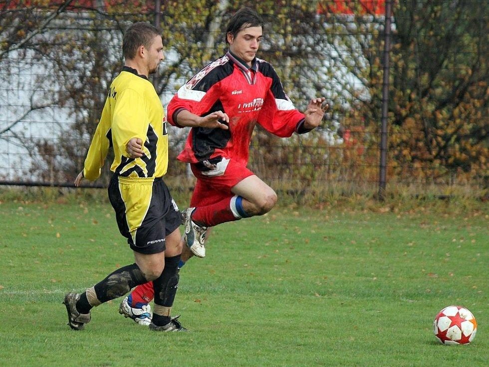 Z utkání fotbalistů Spartak Klenčí B a FK Sokol Chodská Lhota.