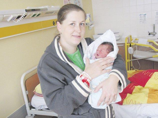 Domažlická nemocnice/první miminko roku 2017