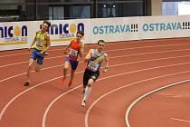 Matyáš Krejčí (sč. 423) si v rozběhu 400m vylepšil osobní maximum.