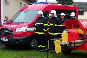 Milavečtí hasiči mají nový vůz