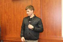 Petr Dufek u domažlického soudu.