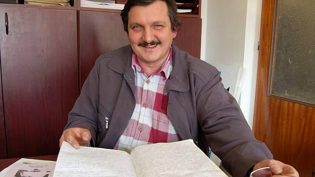 JOSEF LANDKAMMER. Starostu SDH Draženov dělá od r. 2007, předtím byl velitelem. Hasičem je od roku 1972.