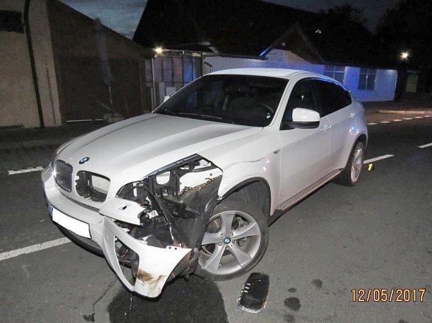 Nehoda u přechodu v Lískové.