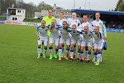 Mistrovství Evropy ve fotbalu žen do 17 let. ČR x Španělsko.