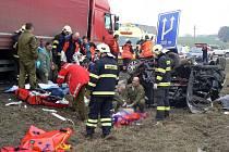 Tragická nehoda u Holýšova.