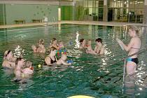 Kurzy plavání batolat ve Kdyni.