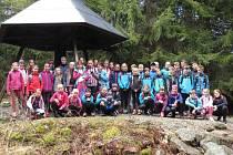 Mílaři Domažlice pořádali soustředění pro děti na šumavských Prášilech.