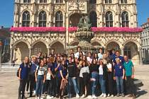 Studenti v Belgii.