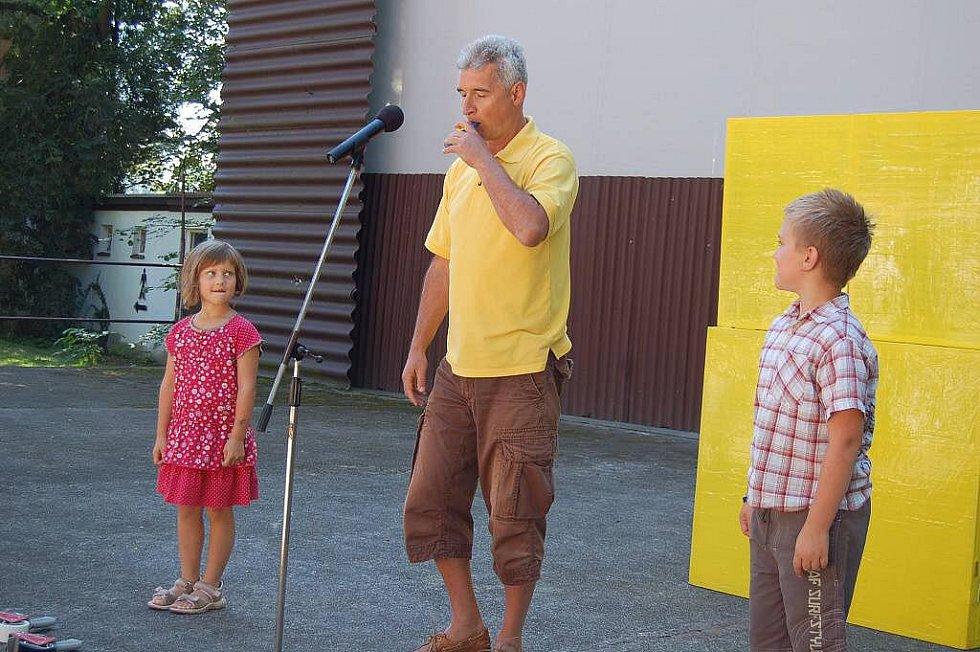 Z vystoupení Michala Nesvadby v Domažlicích.