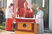 Kocourovská kaplička letos slaví páté narozeniny.