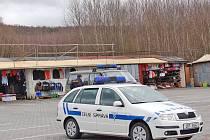 Tržnice v Lískové byla pod stálým dohledem.