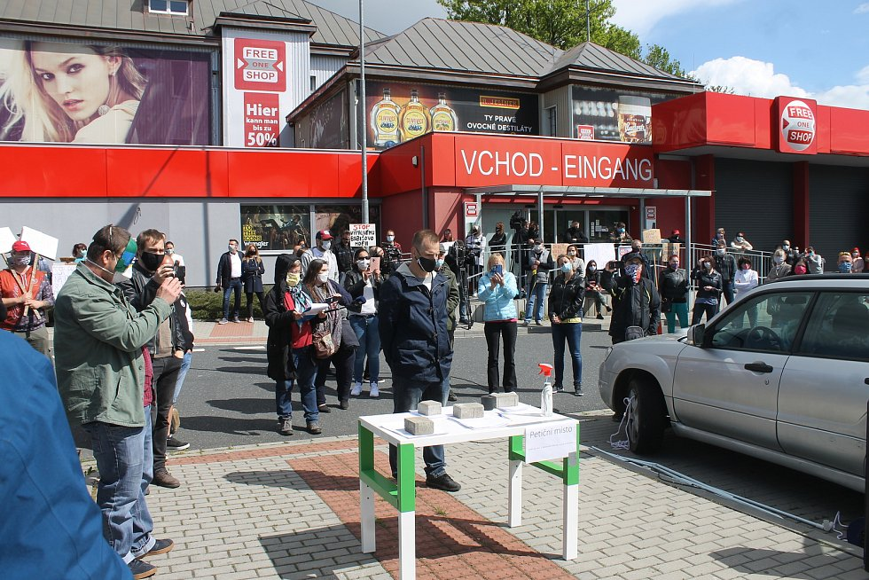 Petiční akce na Folmavě, kterou inicioval Jan Průha.