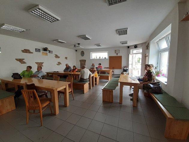 Univerzita třetího věku vZahořanech.