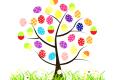Velikonoční strom.
