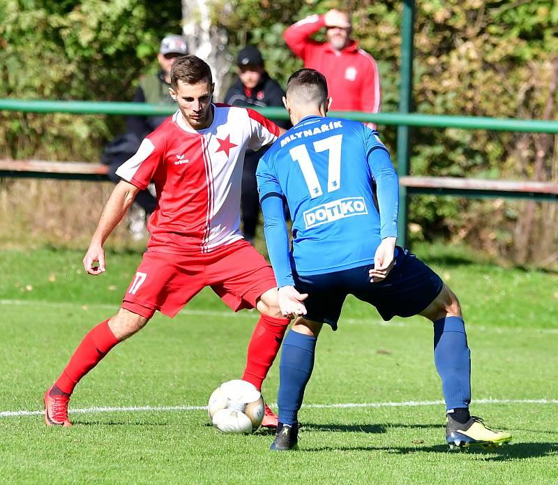 Slavia Karlovy Vary (červení) - Jiskra Domažlice 3:0.