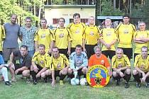 Fotbalisté TJ Sokol Hlohová.