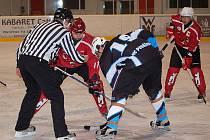 Z utkání AHC Devils a HC Poběžovice.
