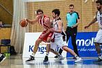 Basketbalová Kooperativa NBL: Kingspan Královští sokoli Hradec Králové - BK JIP Pardubice.